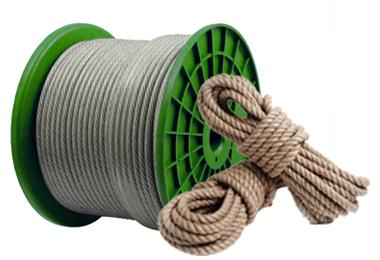 Канаты и<br>верёвки